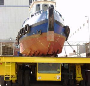 Shipyard Transporter Tug Boat